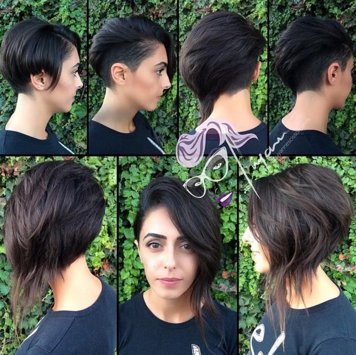 Stylish Long Pixie Hairstyle