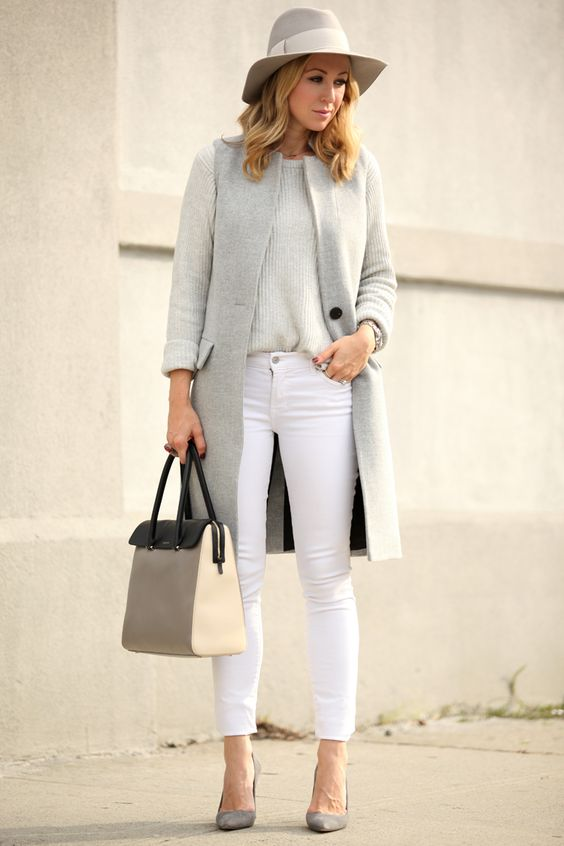 Sweater and Paige Denim