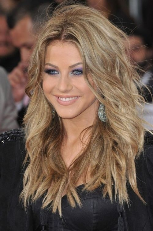 Tousled Long Wavy Hair