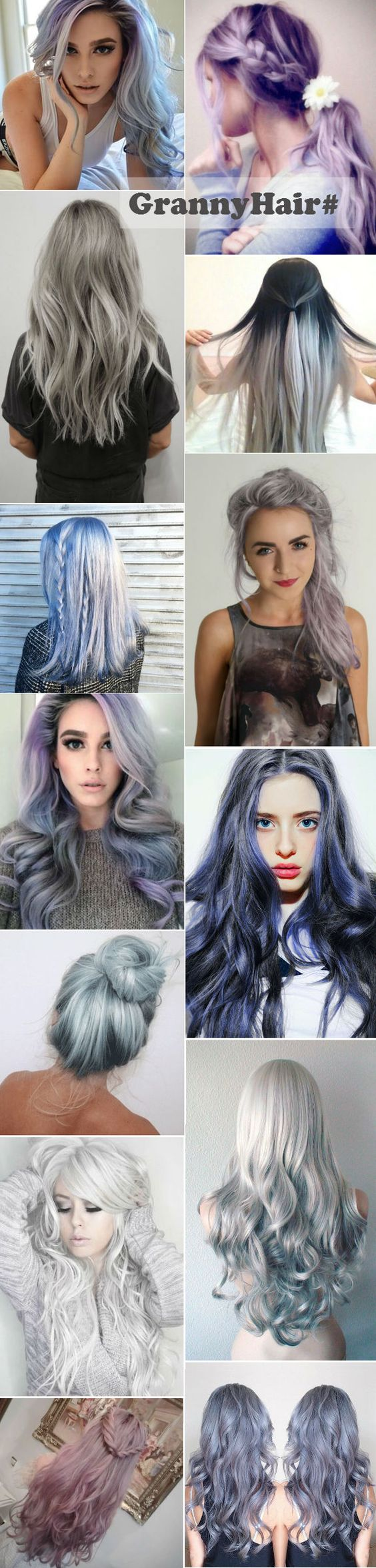 Trendy Grey Hairstyles