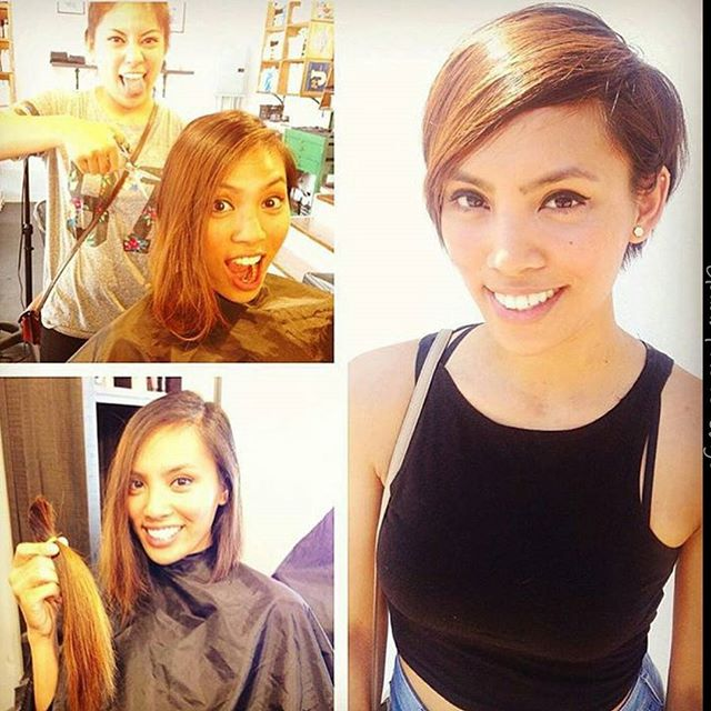 Trendy Long Pixie Hairstyle