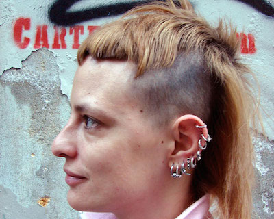Undercut Hair with Long Layers