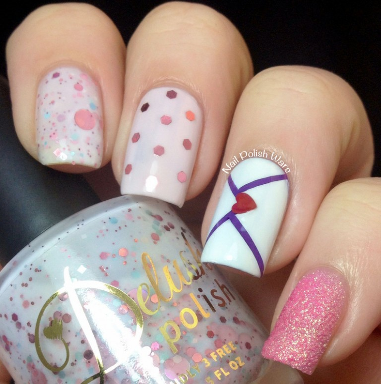 Valentine' s Day Nail Design