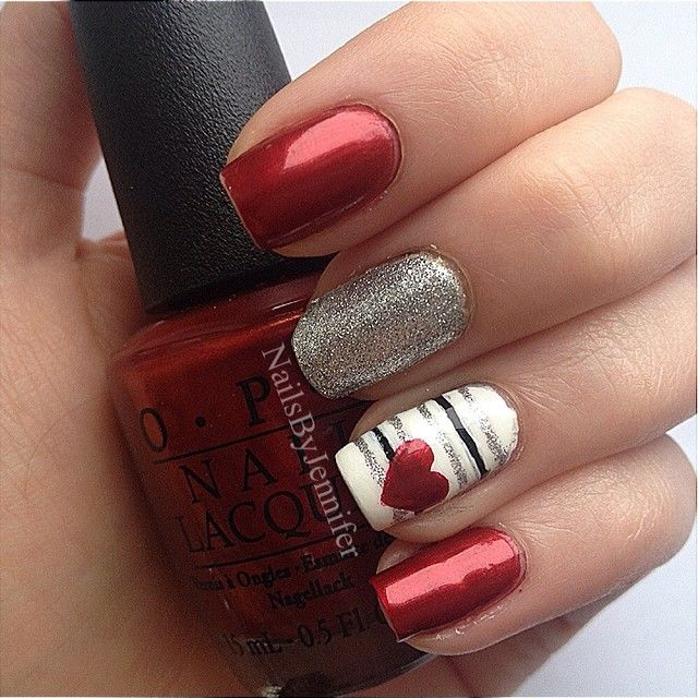 Valentine S Day Nail Design 22 Designs For Your