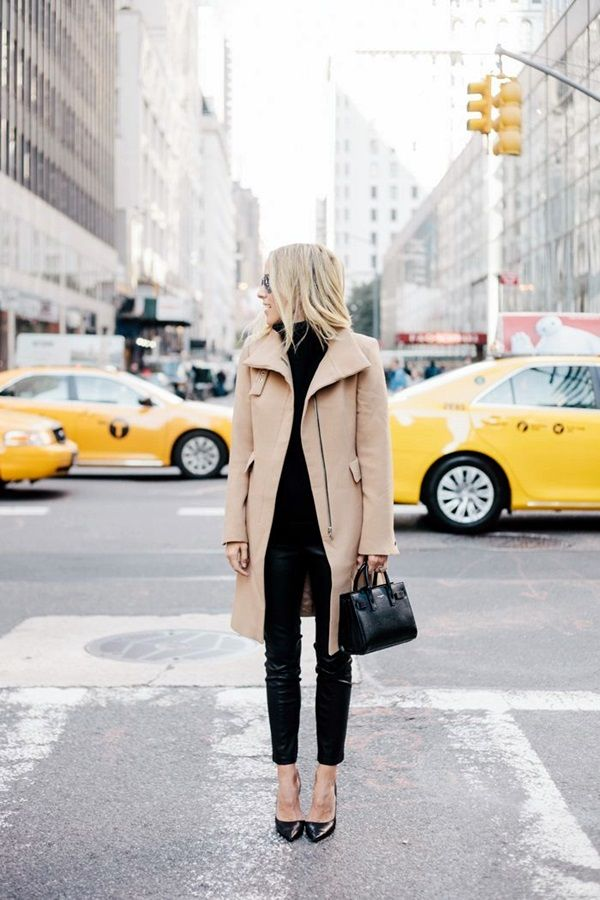 Winter Work Outfit for Women