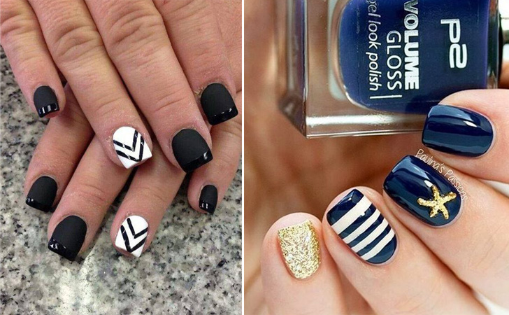 15 nail design ideas that are actually easy to copy pretty designs prinsesfo Image collections
