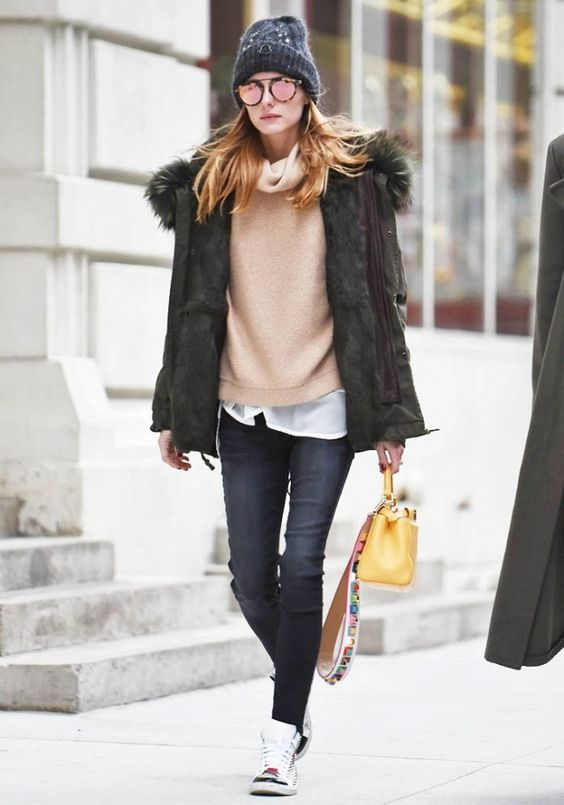 17 Ways To Style Your Parka Outfits Pretty Designs