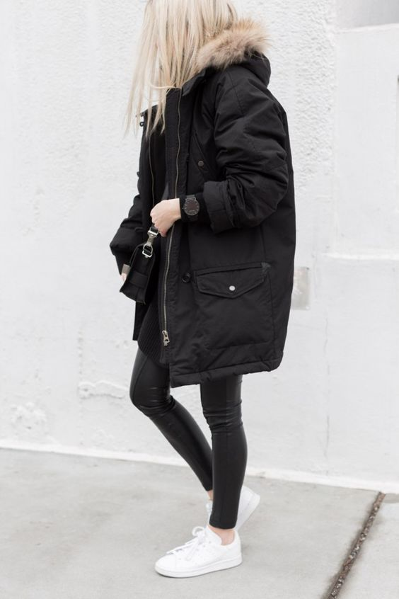 17 Ways to Style Your Parka Outfits | Parka outfit, Fashion