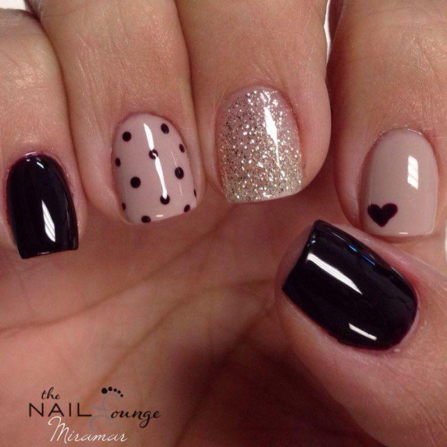 Beige Nail Design - Beige Nail Design - Pretty Designs