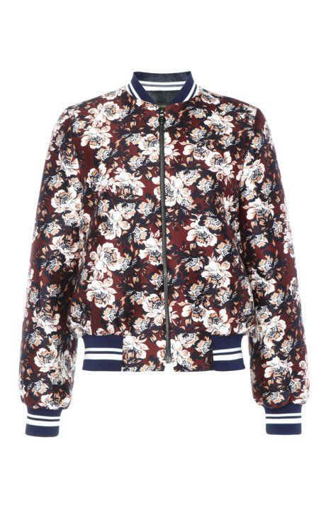 Bennett Silk Cotton Bomber Jacket