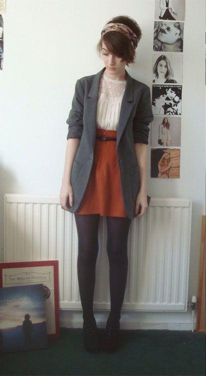 Blazer and Skirt