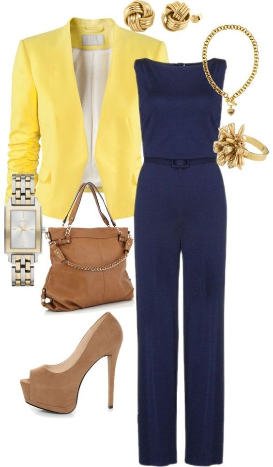 Bright Jacket and Monochrome Overall