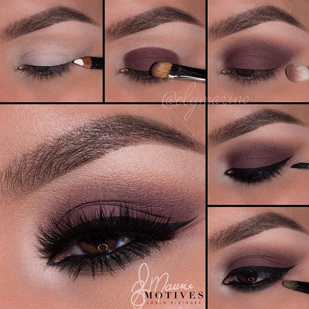 Brown Makeup Idea