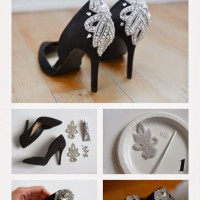 DIY Embellished Pumps Idea