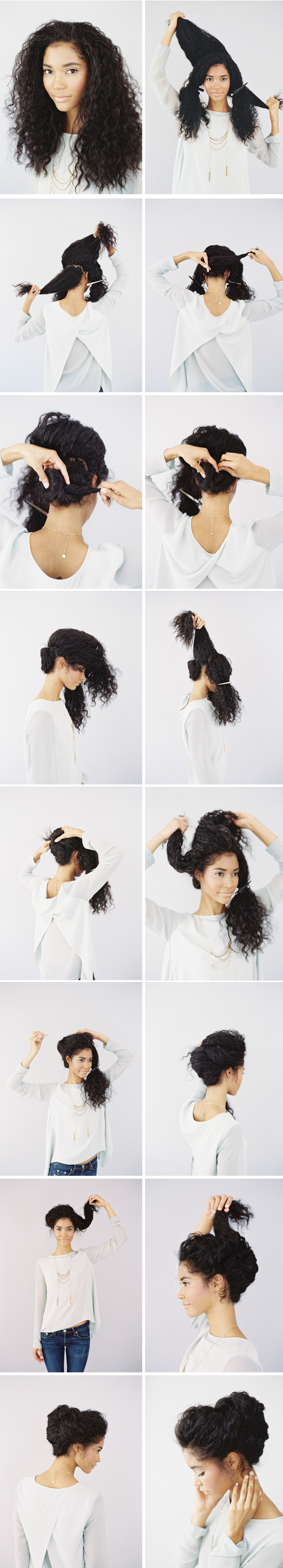 20 Easy Hairstyle Tutorials for Your Everyday Look ...