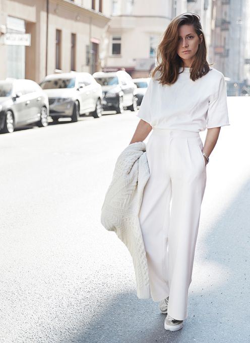 Great All-white Style