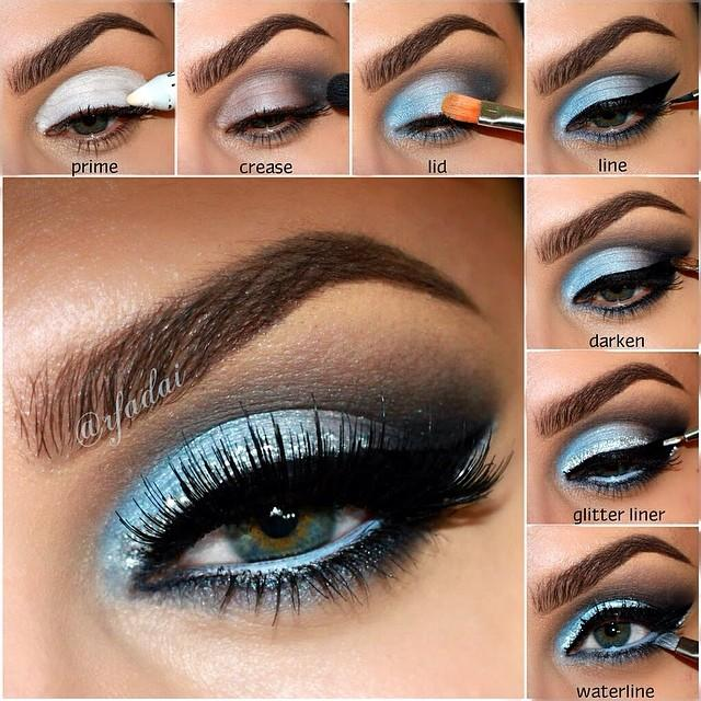Green Eye Makeup Idea