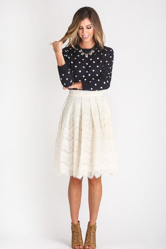 20 Styles to Pop up Your Midi Skirts - Pretty Designs