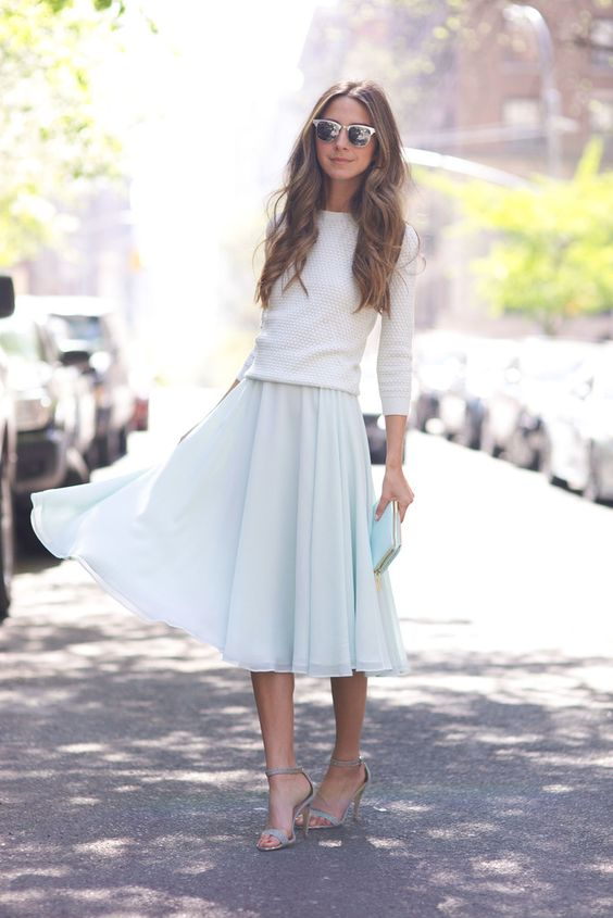 Light Color Outfit