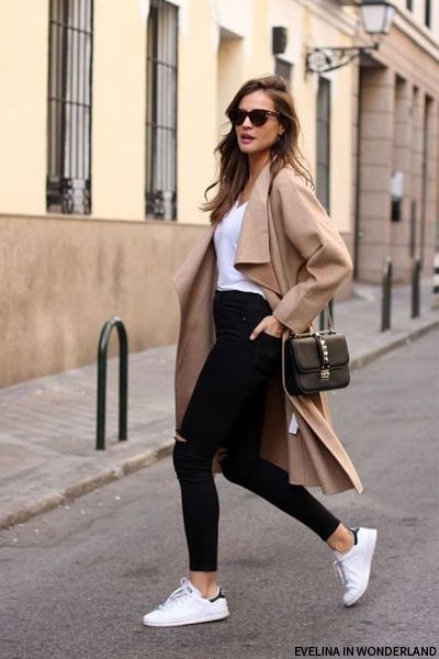 23 Ways To Wear A Pair Of White Sneakers Pretty Designs
