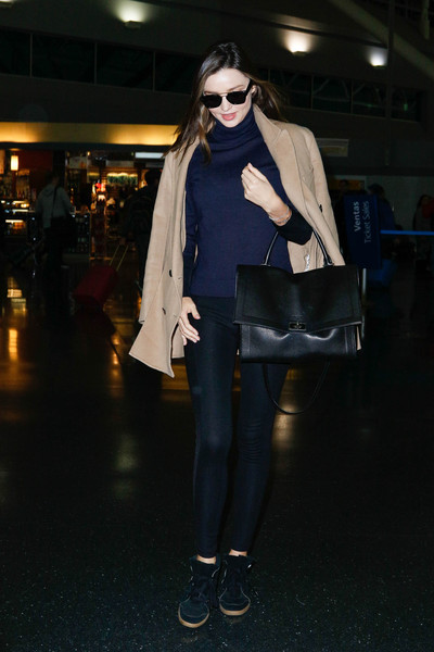 Miranda Kerr Casual Chic Look