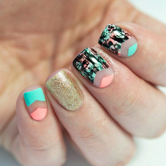 20 Inspiring Negative Space Nails