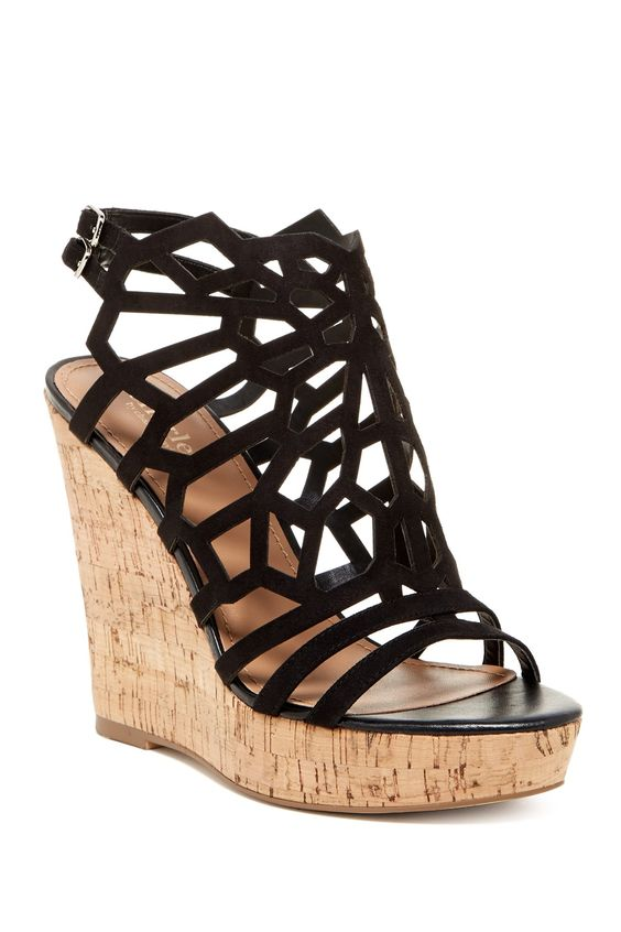 Platform Wedge Pumps