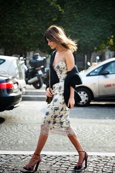 Print Slip Dress