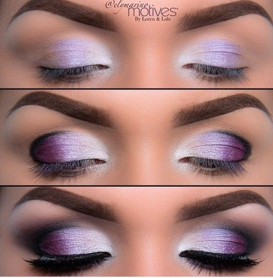 Purple Eye Makeup Idea