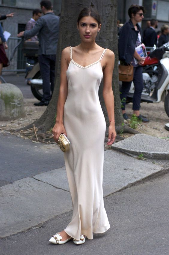 21 Ways to Style Your Slip Dresses - Pretty Designs