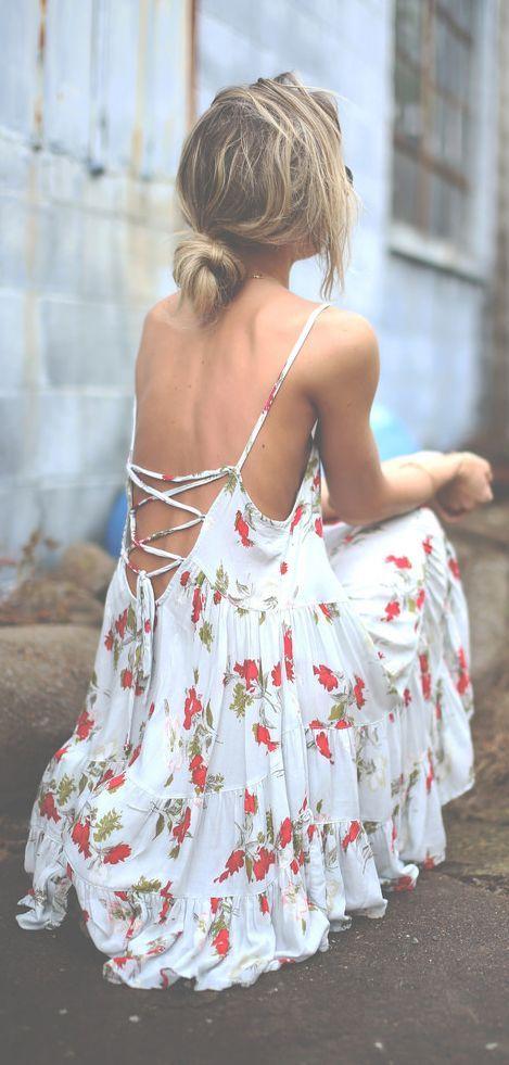 Slip Print Dress