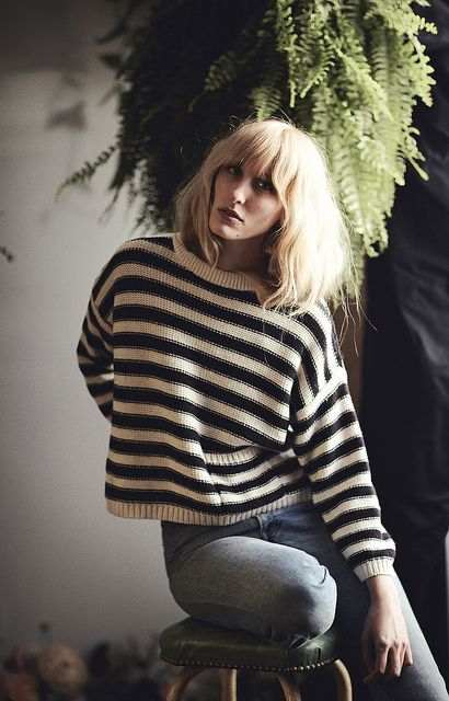 Strip Sweater