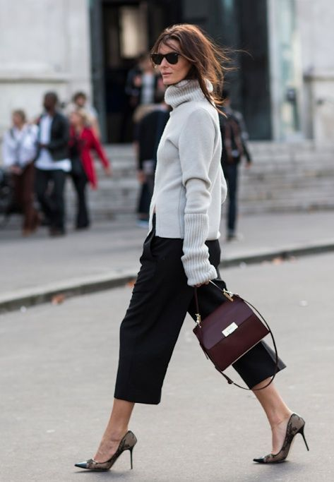 Sweater and Culottes