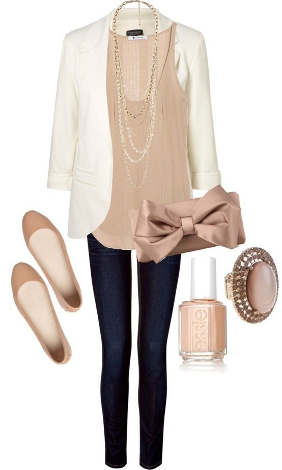 608c04f0cb 20 Casual Outfit Ideas for Business Women - Pretty Designs