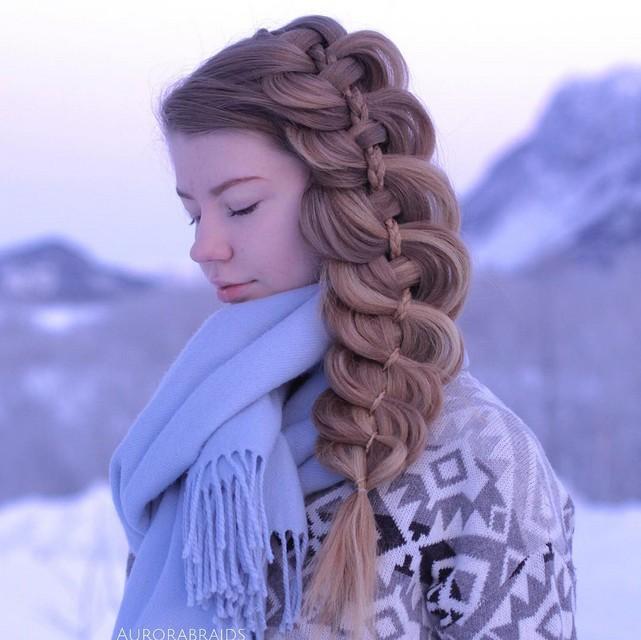 Loose Braid Ponytail Hairstyle