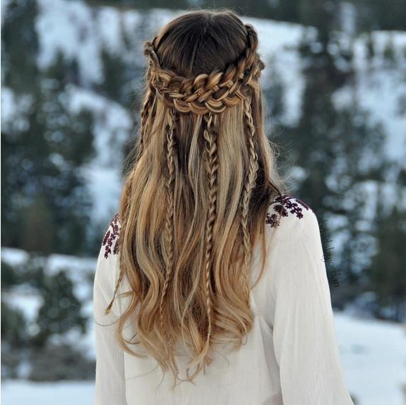 Waterfall Braid Hairstyles: 18 Stunning Braided Hairstyles You Will Love