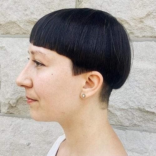 Black Bowl Hair