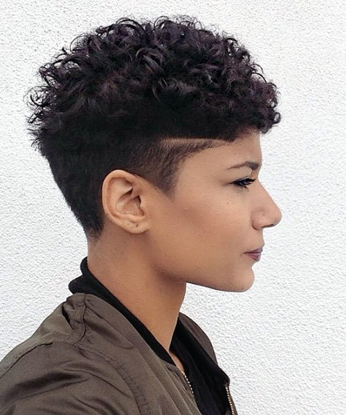Hairstyles For Short Curls: 20 Trendy African American Pixie Cuts