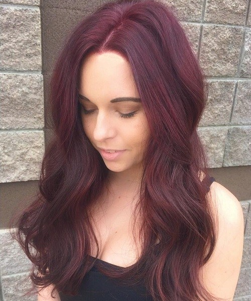 A Mahogany Brown Hair Color Suits Many People Because It Is Vibrant Blend Of Red And Violet Tone That Has Elements Both Cool Warm