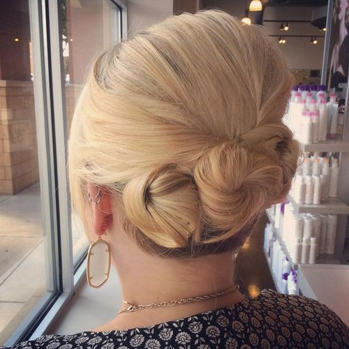 26 Amazing Bun Updo Ideas For Long Amp Medium Length Hair