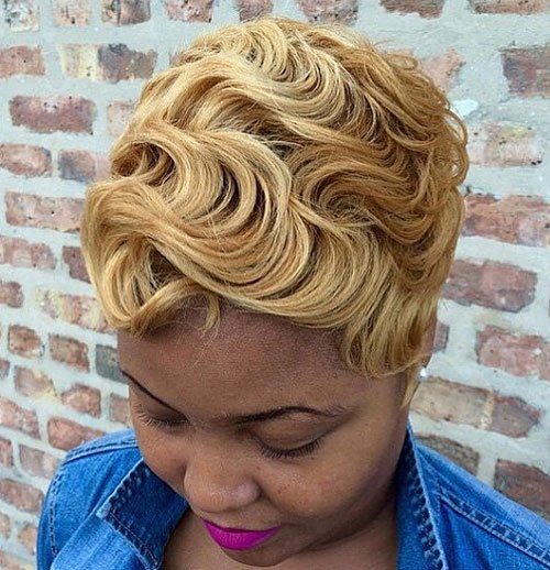 20 Trendy African American Pixie Cuts