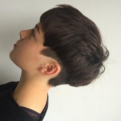 Boyish Bowl Hair