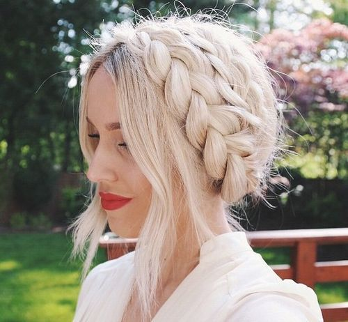Braided Sliver Hair
