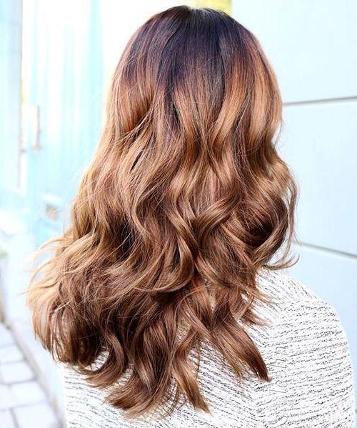 Bright Brown Hair