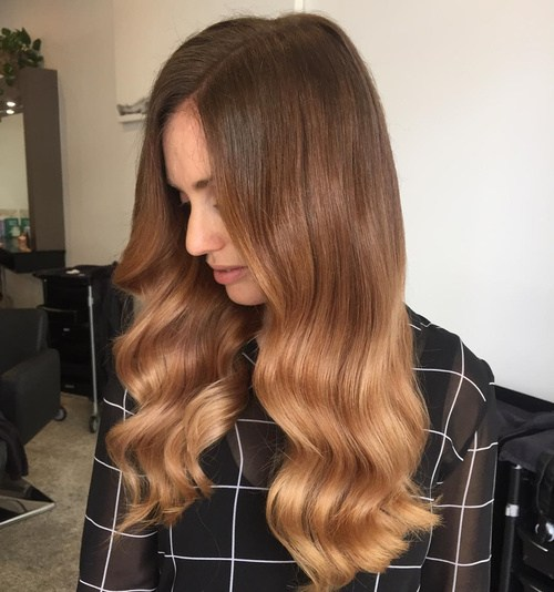 Brown Ombre Curls