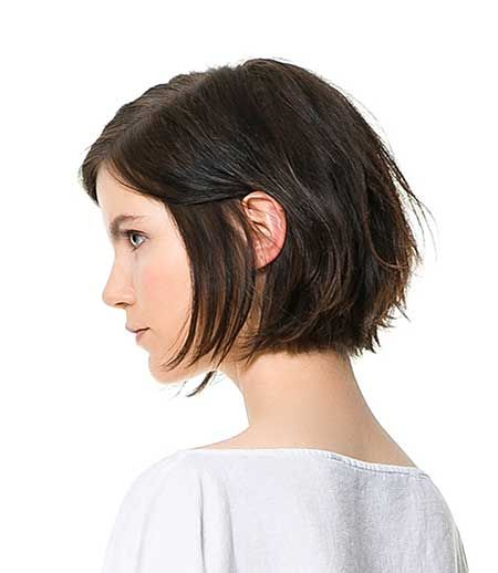 Brown Short Bob