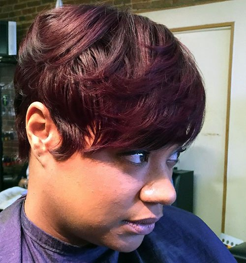 20 Trendy African American Pixie Cuts Pixie Cuts For