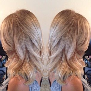 Champagne Blonde Hairstyle