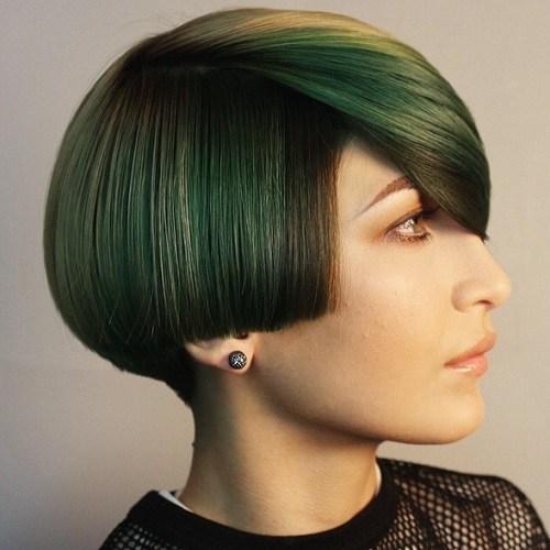 Colored Bowl Hair