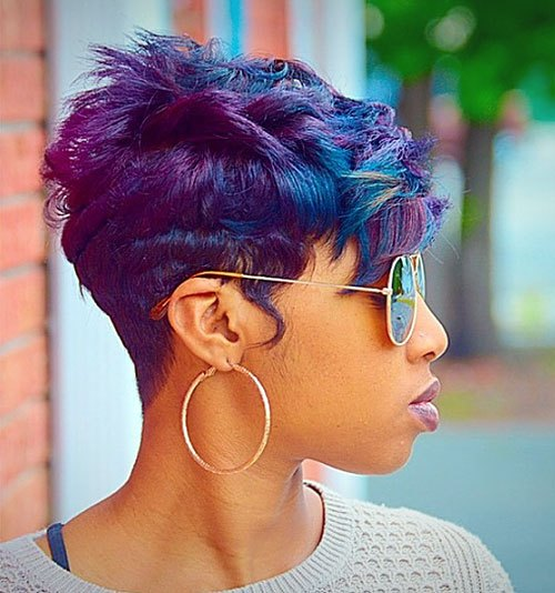 Trendy Short Hairstyles For Black Women